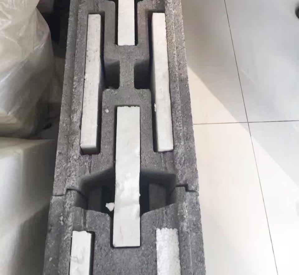 混凝土连锁空心保温砌块