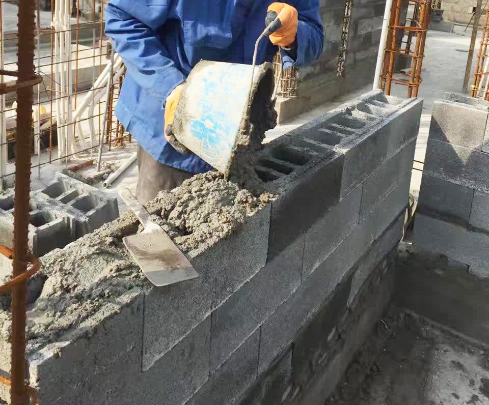 混凝土连锁空心承重砌块